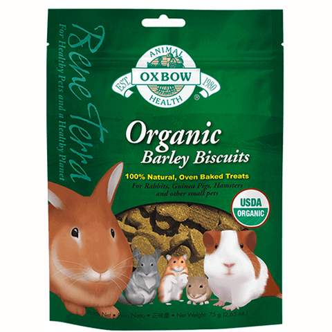 Benna Terra Organic Barley Biscuits Small Animal Treat