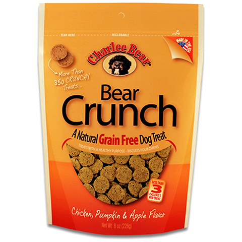 Bear Crunch Chicken, Pumpkin & Apple Grain-Free Dog Treats