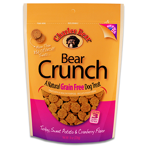 Bear Crunch Turkey, Sweet Potato & Cranberry Grain-Free Dog Treats