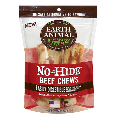 No-Hide Beef Rawhide Alternative Dog Chew