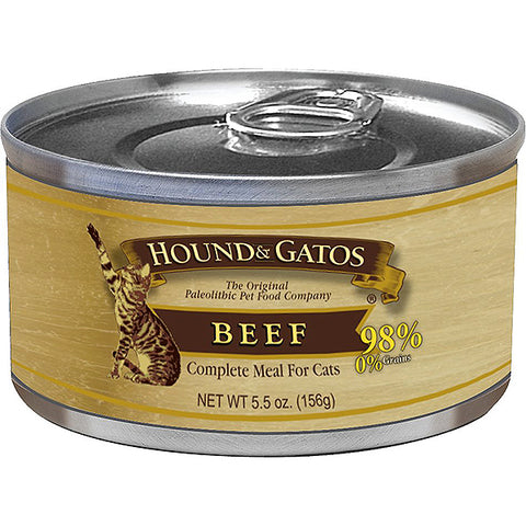 98% Beef Formula Grain-Free Wet Canned Cat Food