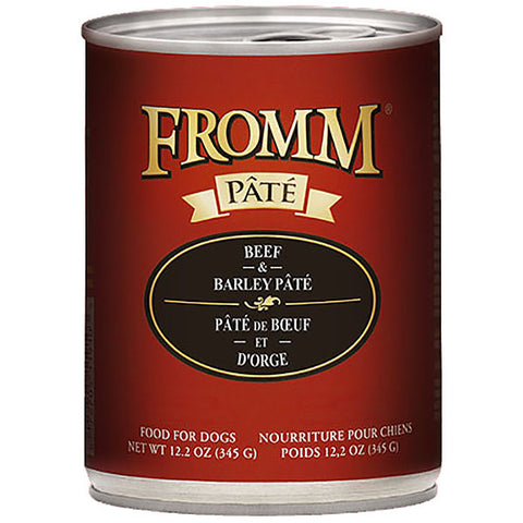 Beef & Barley Pate Wet Canned Dog Food