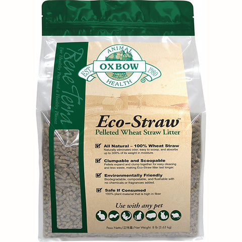 Bene Terra Eco-Straw Pelleted Wheat Straw Litter