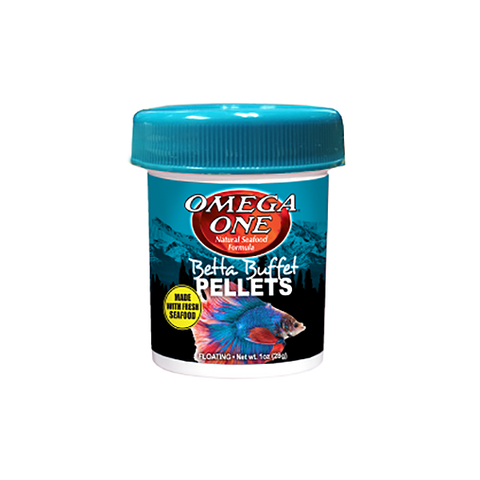 Betta Buffet Floating Fish Food Pellets
