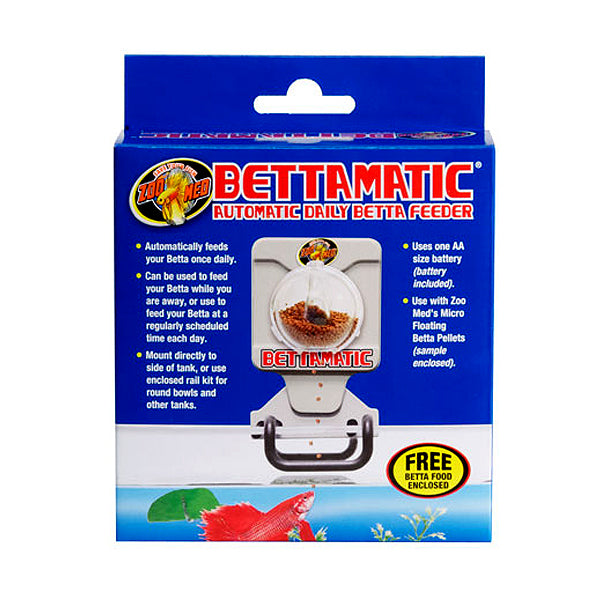 Bettamatic Automatic Battery Operated Daily Betta Feeder