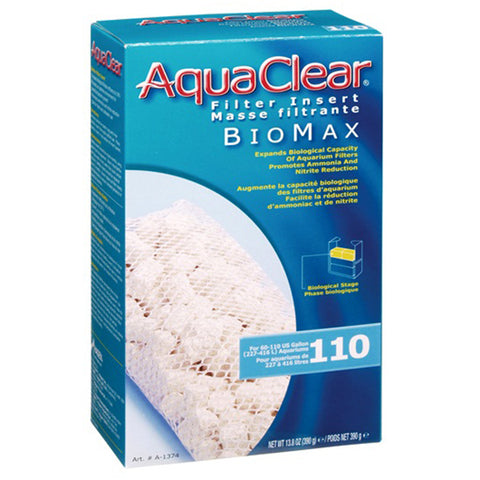 BioMax Ceramic Media Biological Filter Insert for AquaClear 110 Power Filter