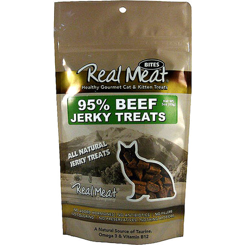 Jerky Bites 95% Free Range Beef Soft Cat Treats