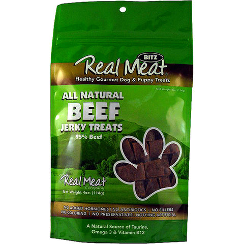 Jerky Bitz 95% Beef Grain-Free Soft Dog Treats