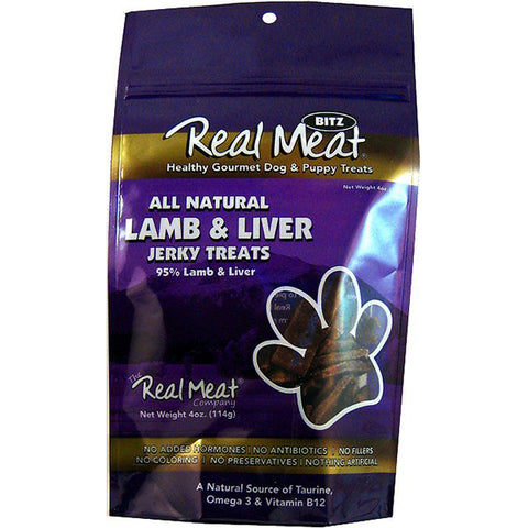 Jerky Bitz 95% Lamb & Liver Grain-Free Soft Dog Treats