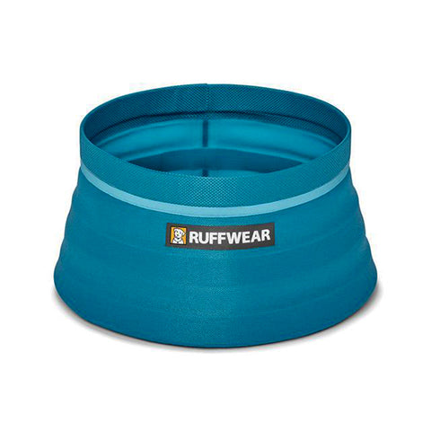 Bivy Bowl Collapsible Food & Water Travel Dog Bowl Blue