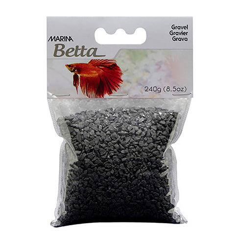 Betta Gravel Aquarium Substrate Black