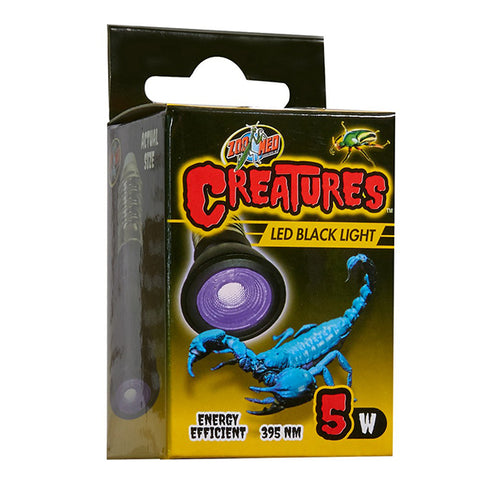 Creatures LED Black Light Bulb