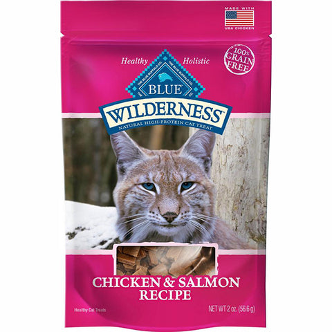 Wilderness Chicken and Salmon Grain-Free Cat Treats