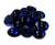 Gem Stones Marbles Aquarium Decoration Blue