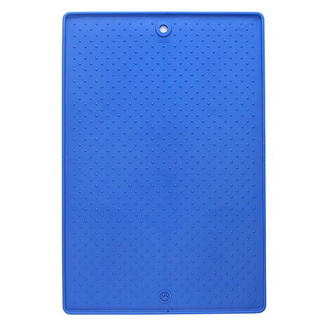 Grippmat Everyday Silicone Pet Placemat Blue