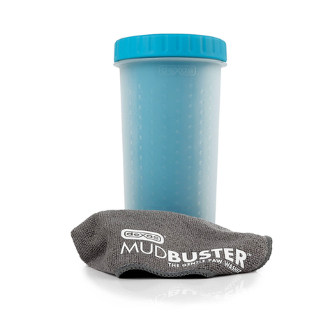 MudBuster Silicone Dog Paw Cleaning Tool Blue