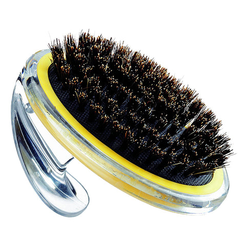 Boar Bristle Pet-It Dog Grooming Hand Brush