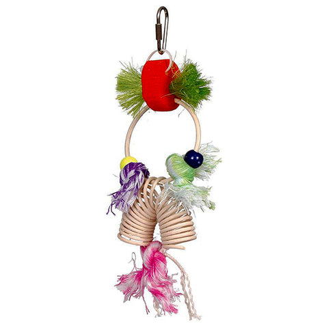 Stick Staxs Bundles Of Fun Multicolor Hanging Bird Toy