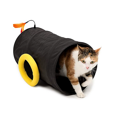 Play Pirates Foldable Cannon Cat Tunnel