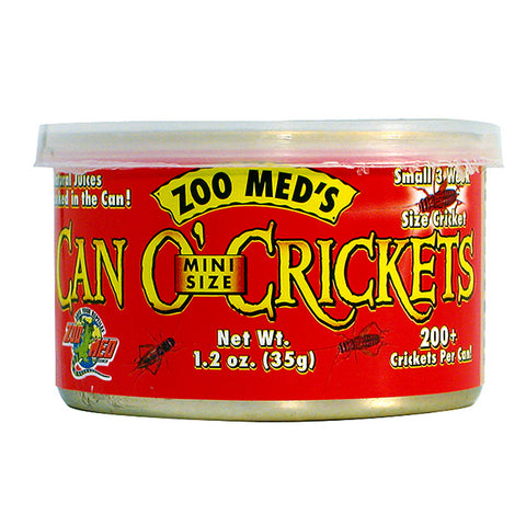 Can O' Crickets Wet Canned Reptile Food