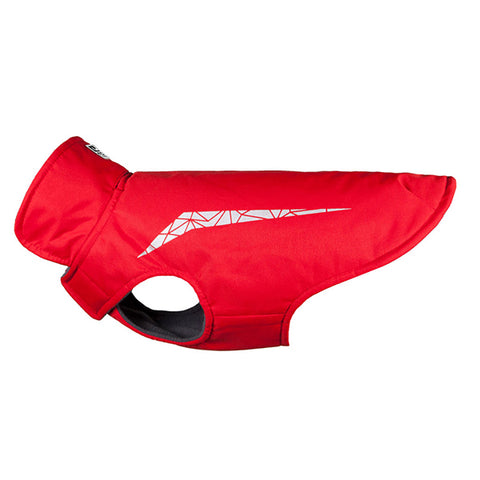 Cascade Coat Reflective & Water Resistant Dog Jacket Red