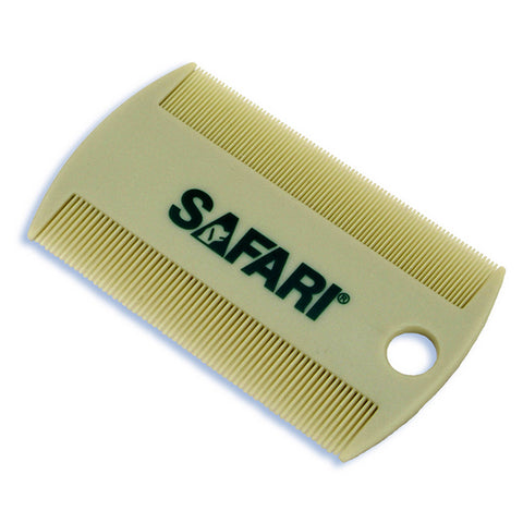 Safari Double-Sided Plastic Cat & Dog Flea Comb
