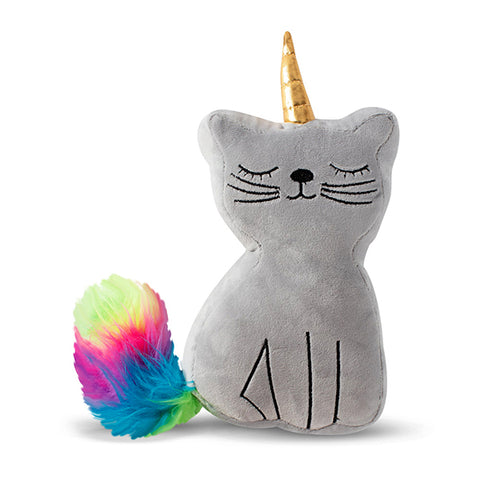 PetShop Missy the Caticorn Squeaky Plush Dog Toy