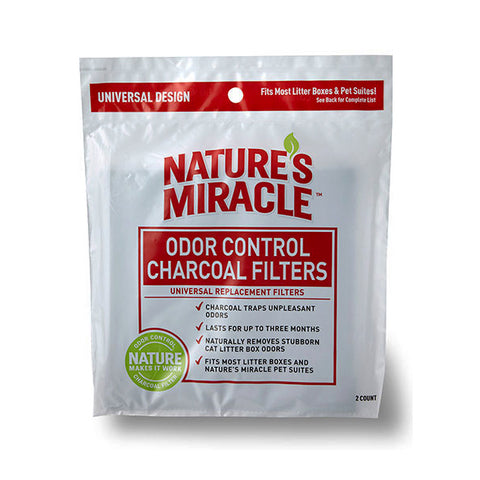 Odor Control Universal Charcoal Litter Box Filters