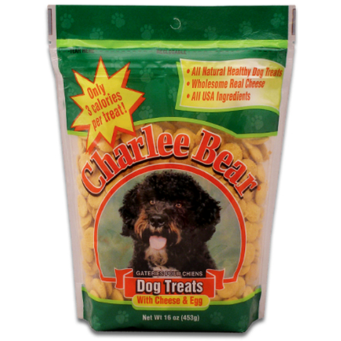 Cheese & Egg Flavor Dog Treats