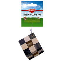 Chew 'n Cube Wood Small Animal Chew Toy