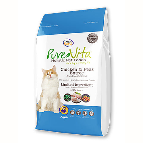 Chicken & Peas Entree Grain-Free Dry Cat Food