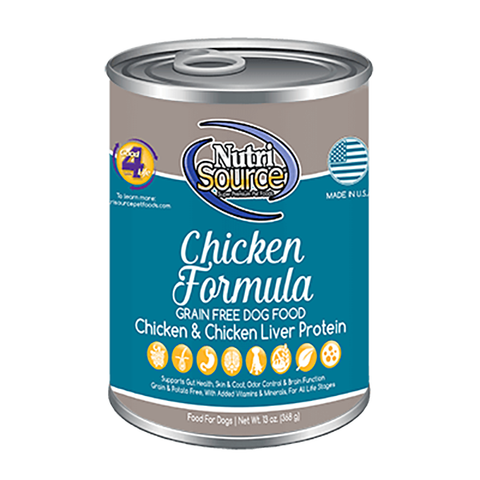Chicken Formula Grain-Free Wet Canned Dog Food