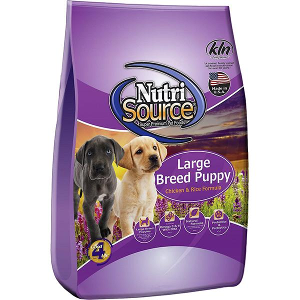 Chicken & Rice Formula Large Breed Puppy Dry Dog Food