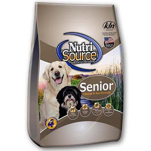 Chicken & Rice Formula Senior Dry Dog Food