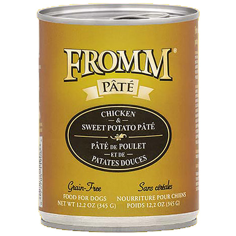 Chicken & Sweet Potato Pate Grain-Free Wet Canned Dog Food