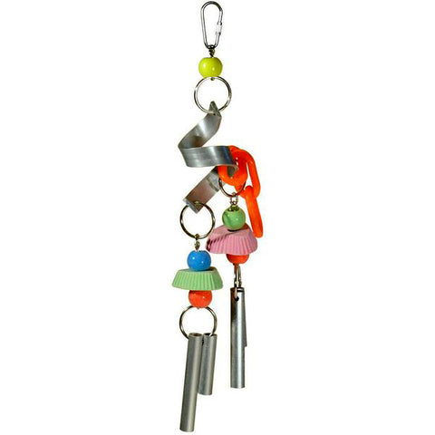 Chime Time Cyclone Hanging Bird Toy Habitat Addition