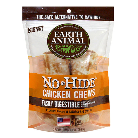 No-Hide Chicken Rawhide Alternative Dog Chew