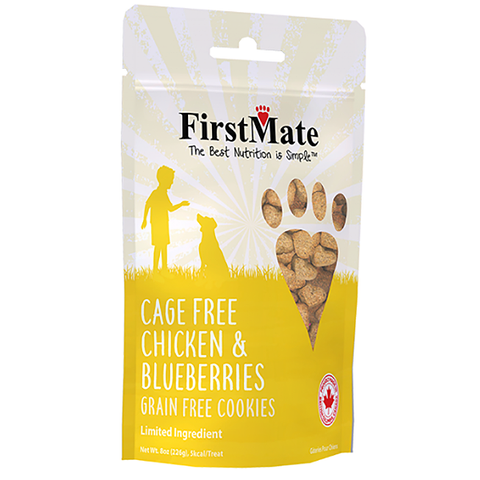 Cage Free Chicken & Blueberries LID Grain-Free Crunchy Dog Treats