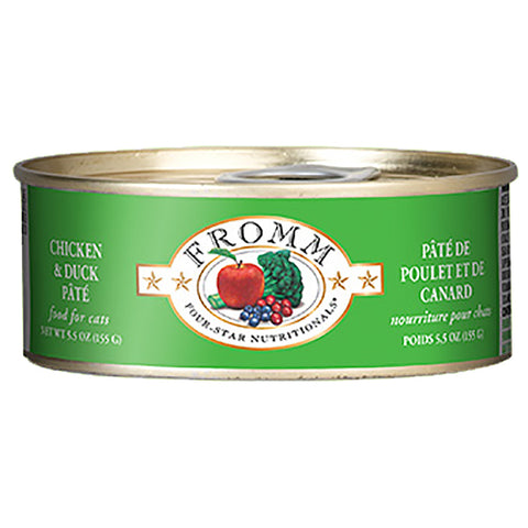 Chicken & Duck Pate Grain-Free Wet Canned Cat Food