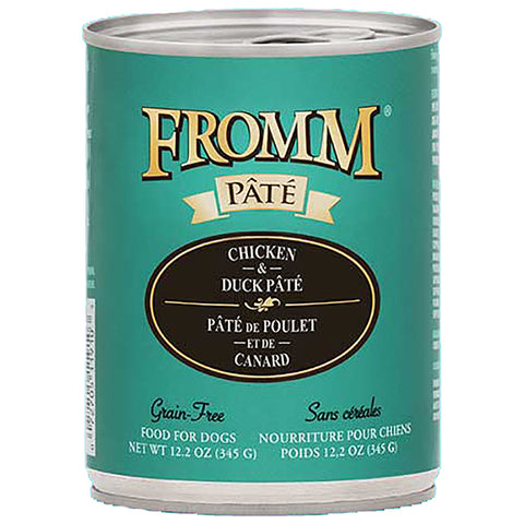 Chicken & Duck Pate Grain-Free Wet Canned Dog Food