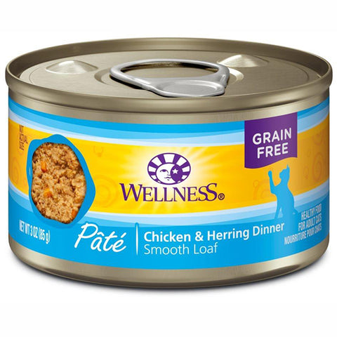 Complete Health Natural Grain-Free Chicken and Herring Pate Wet Canned Cat Food