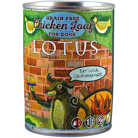 Chicken Loaf for Dogs Grain-Free Wet Canned Dog Food