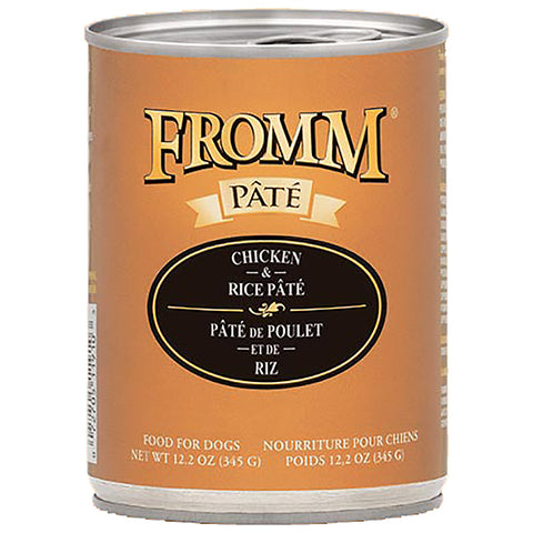 Chicken & Rice Pate Wet Canned Dog Food