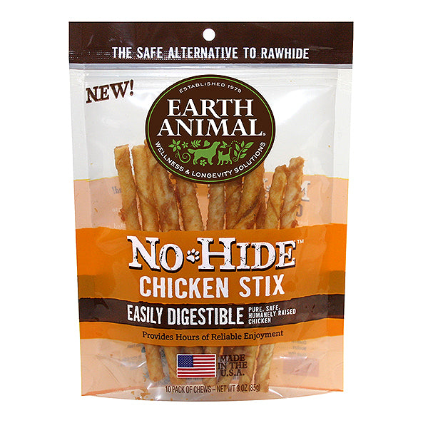 No-Hide Chicken Stix Rawhide Alternative Dog Chew