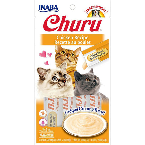Churu Chicken Puree Lickable Cat Treat
