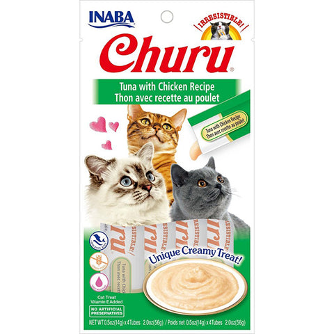 Churu Tuna with Chicken Puree Lickable Cat Treat