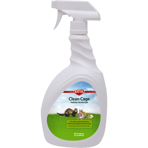 Clean Cage Small Animal Habitat Cleaner & Deodorizer Spray