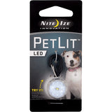 PetLit LED Collar Attachment Clear Jewel