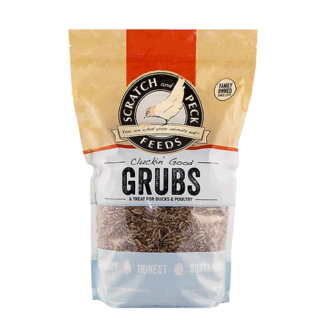 Cluckin' Good Grubs Treat for Ducks & Poultry