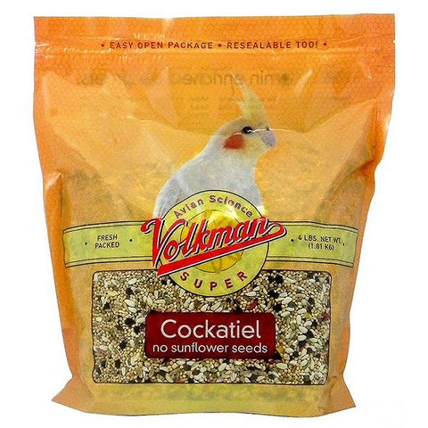 Avian Science Super Cockatiel No Sunflower Seeds Bird Food